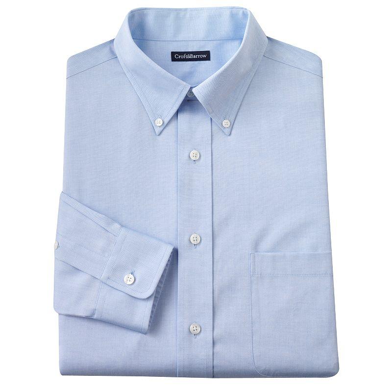 Slim fit dress shirt kohl 39 s for Dress shirt fitted vs slim