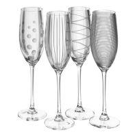 Mikasa Cheers 4-pc. Flute Set