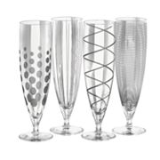 Mikasa Cheers 4-pc. Pilsner Glass Set