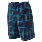 Speedo Plaid Swim Trunks