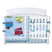 Dr. Seuss One Fish, Two Fish 4-pc. Crib Bedding Set by Trend Lab