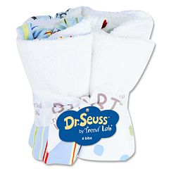 Dr. Seuss 'One Fish, Two Fish' 4-pk. Bib Bouquet by Trend Lab