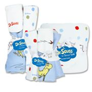 Dr. Seuss One Fish, Two Fish 10-pc. Hooded Towel, Washcloth and Burp Cloth Set by Trend Lab