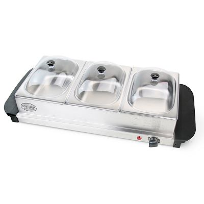 Nostalgia Electrics Mini Buffet Server And Warming Tray