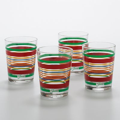 Fiesta 4-pc. Double Old-Fashioned Glass Set