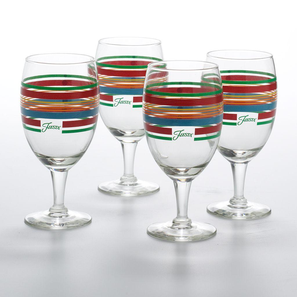 Fiesta 4-pc. Goblet Set