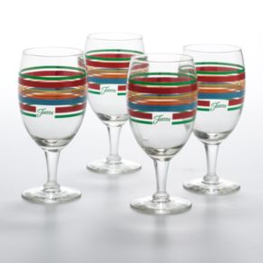Fiesta 4-pc. Goblet Set