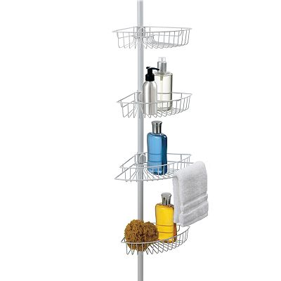 Better Bath 4-Tier Tension Pole Shower Organizer