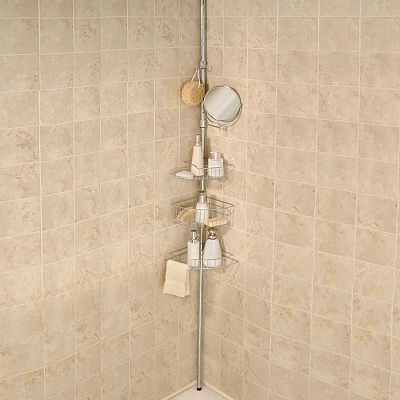Better Bath 3-Tier Tension Pole Shower Organizer