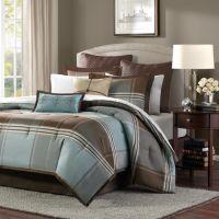 Madison Park Davenport 8-pc. Plaid Comforter Set - Queen