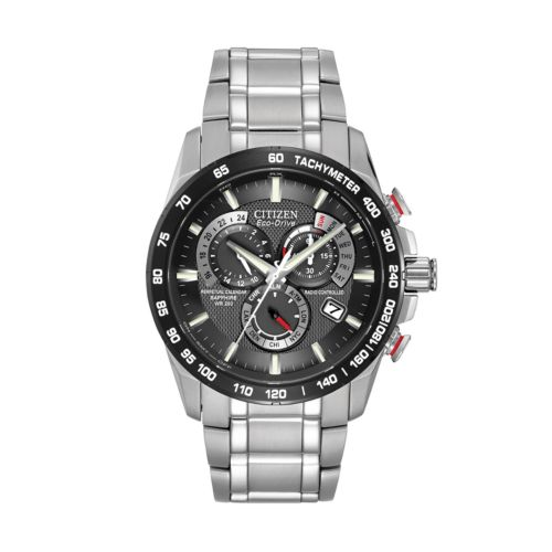 Citizen Watch - Men's Eco-Drive Perpetual Chrono A-T Stainless Steel - AT4008-51E
