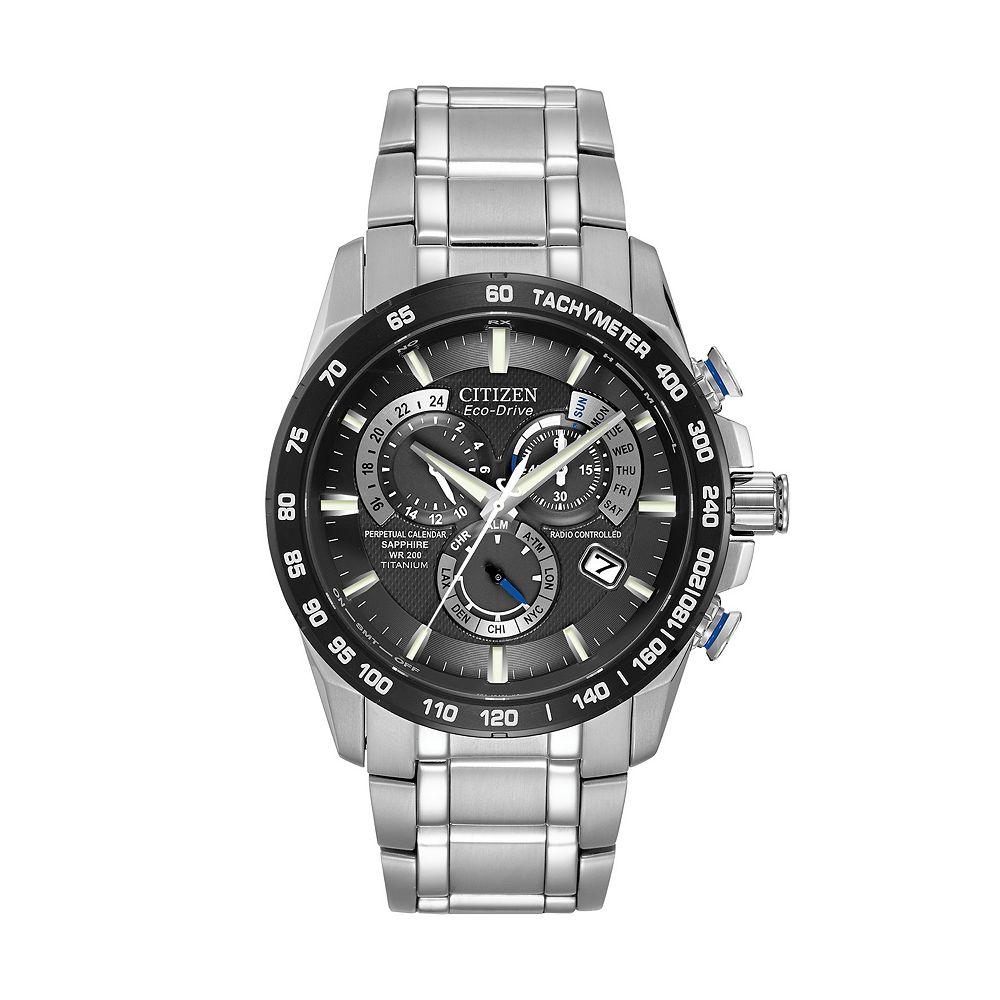 Citizen Eco-Drive Perpetual Chrono A-T Titanium Watch - AT4010-50E 56421e0d2