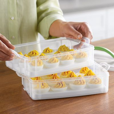 Food Network 2-Tier Egg Keeper
