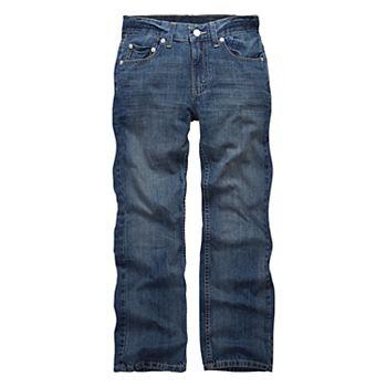 ef109fdee7f Boys 8-20 Levi s® 505™ Regular-Fit Straight-Leg Jeans In Regular   Husky