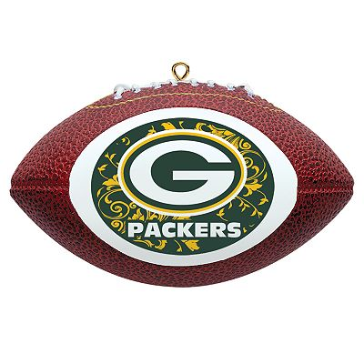 Green Bay Packers Football Ornament