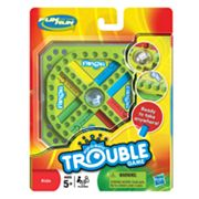 Hasbro Fun on the Run Pop-O-Matic Trouble Travel Game