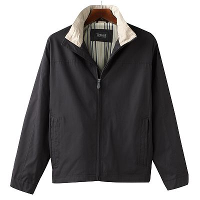 Towne by London Fog Microfiber Hipster Jacket - Men