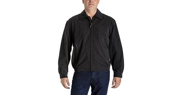Men S Towne By London Fog Microfiber Golf Jacket