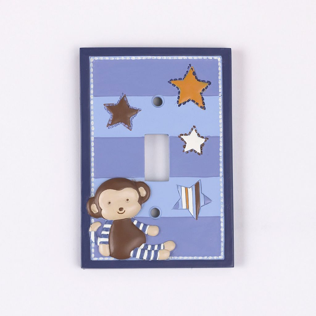 CoCaLo Baby Monkey Mania Switch Plate