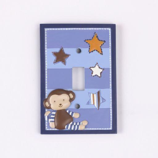 CoCaLo Baby Monkey Mania Switch Plate