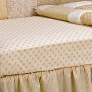 CoCaLo Baby Snickerdoodle Fitted Crib Sheet