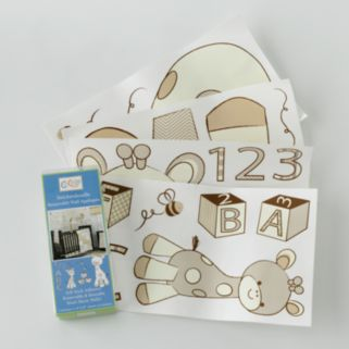 CoCaLo Baby Snickerdoodle Wall Appliques