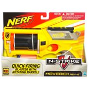 Nerf N-Strike Maverick REV-6 Blaster by Hasbro