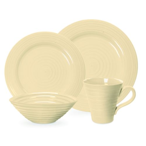 Portmeirion Sophie Conran Biscuit 4-pc. Place Setting
