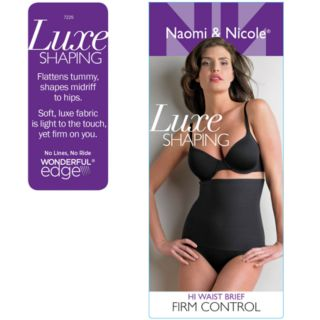 Naomi & Nicole Luxurious Shaping High-Waist Brief 7225