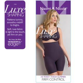 Naomi & Nicole Luxurious Shaping High-Waist Thigh Slimmer 7229