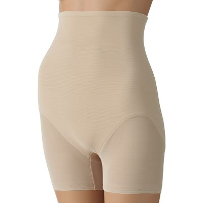 Naomi and Nicole Sheer Derriere Lift Hi-Waist Boyshorts - 749