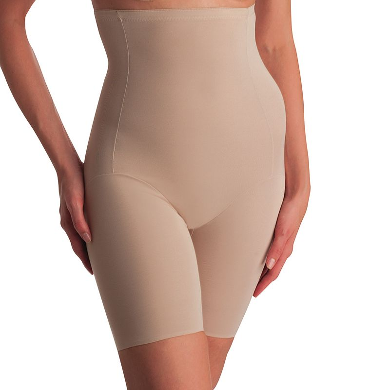 Naomi and Nicole Comfortable Firm High-Waist Thigh Slimmer 779 - Women's
