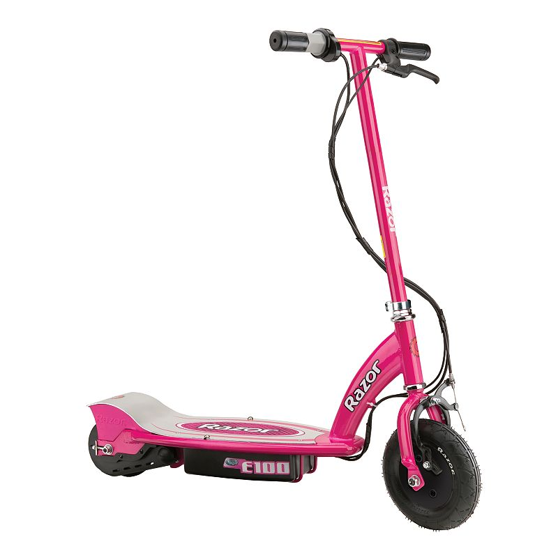 Razor E100 Electric Scooter, Pink