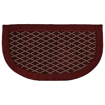 Mohawk Home Diamond Lattice Memory Foam Kitchen Rug