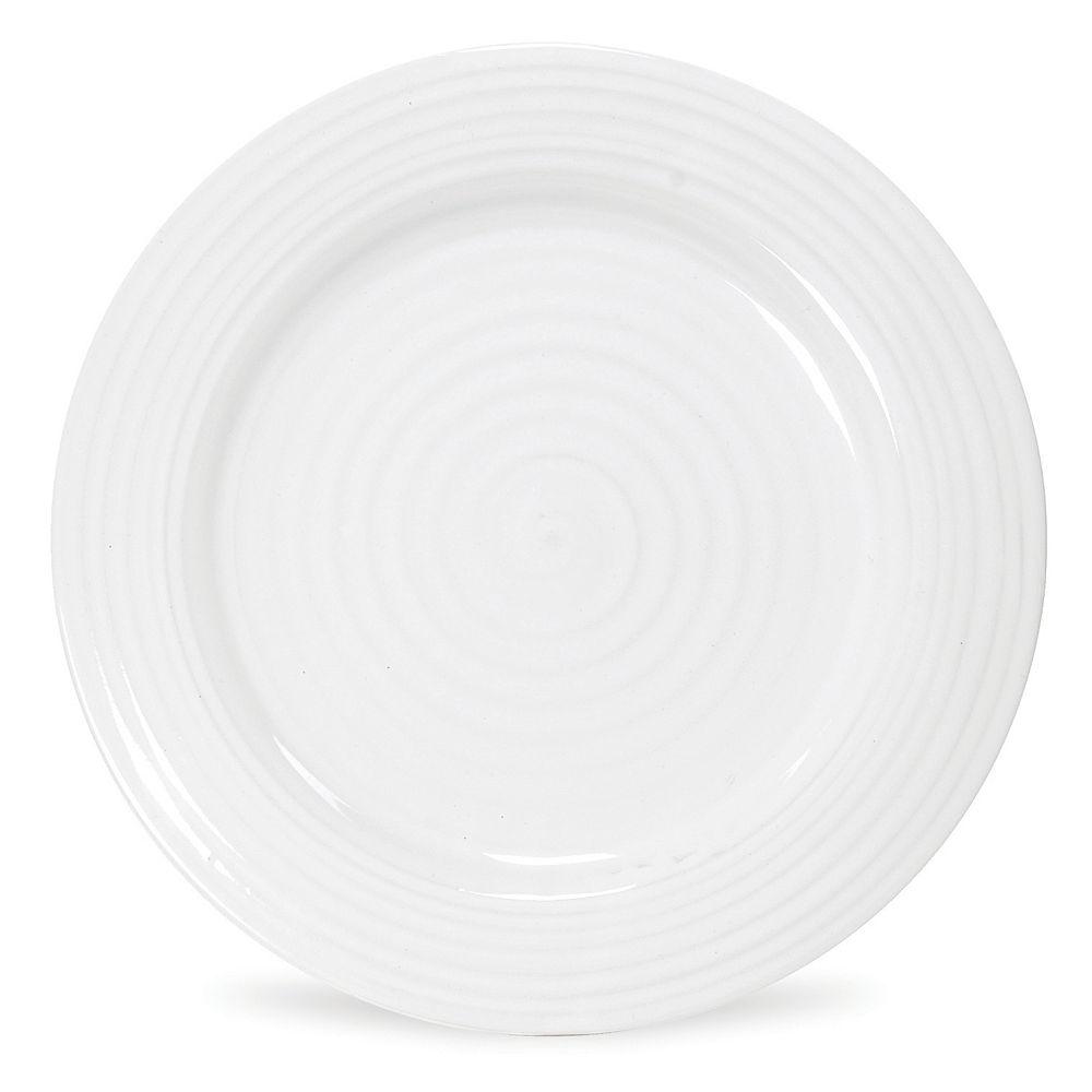 Portmeirion Sophie Conran White 4-pc. Dinner Plate Set