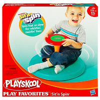 Playskool Play Favorites Sit 'n Spin by Hasbro