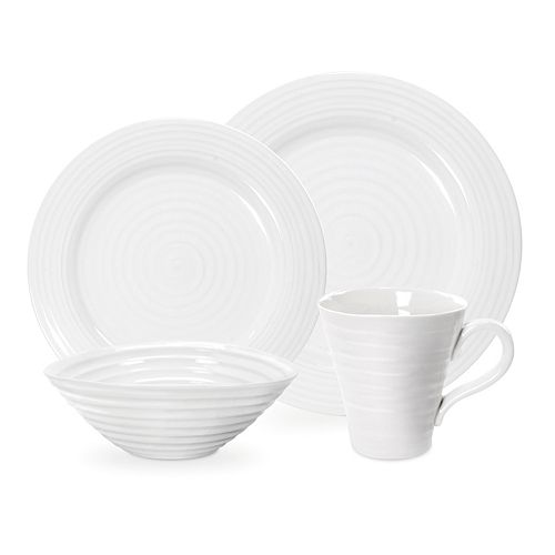 Portmeirion Sophie Conran White 4-pc. Place Setting