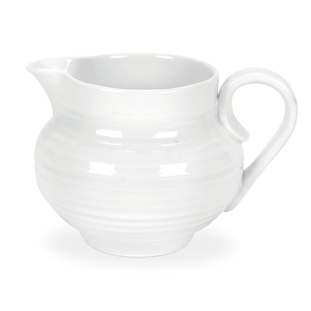 Portmeirion Sophie Conran White Cream Jug