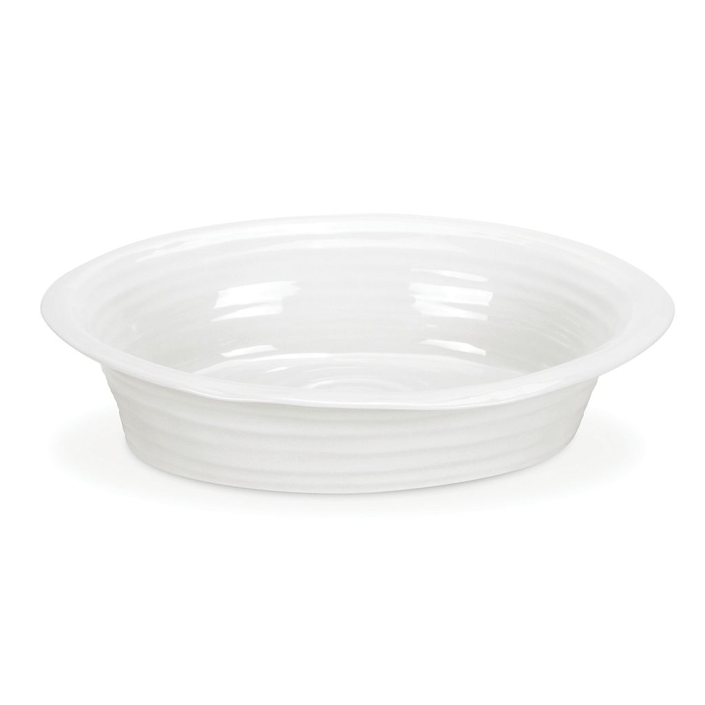 Portmeirion Sophie Conran 10 1/2-in. White Pie Dish