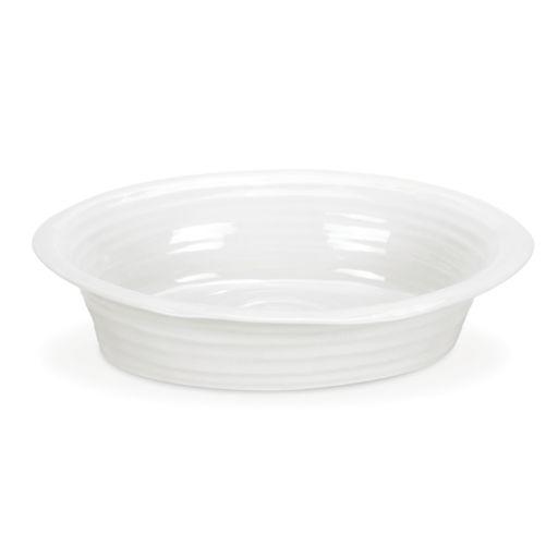 Portmeirion Sophie Conran 10 1/2-in. White Pie Dish