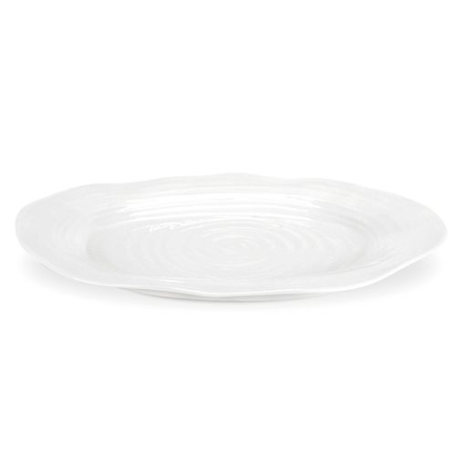 Portmeirion Sophie Conran White Large Oval Platter