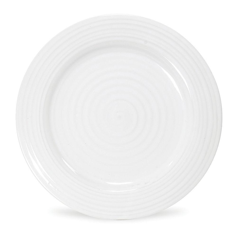 Portmeirion Sophie Conran White 4-pc. Luncheon Plate Set