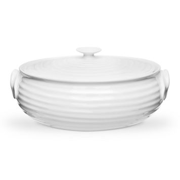Portmeirion Sophie Conran White Covered Serving Dish