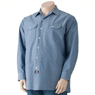 Dickies Chambray Work Shirt - Big and Tall