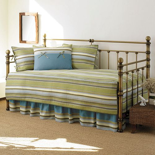 Stone Cottage Fresno Green 5-pc. Daybed Quilt Set