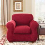Sure Fit Stretch Pique 3-pc. Chair Slipcover