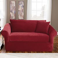 Sure Fit Stretch Pique 3-pc. Sofa Slipcover