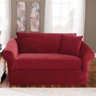 Sure Fit Stretch Pique 3-pc. Sofa Slipcover