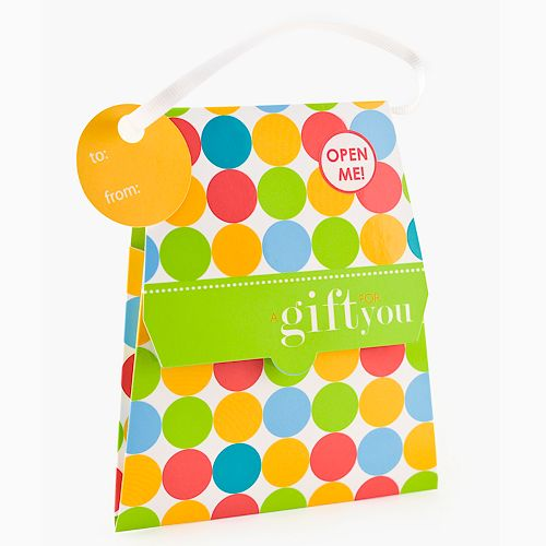 Gift Card Impressions Polka-Dot Purse Gift Card Holder