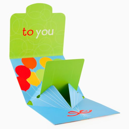 Gift Card Impressions Happy Birthday Gift Card Holder